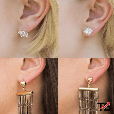 18k Earring Back Support Lifts