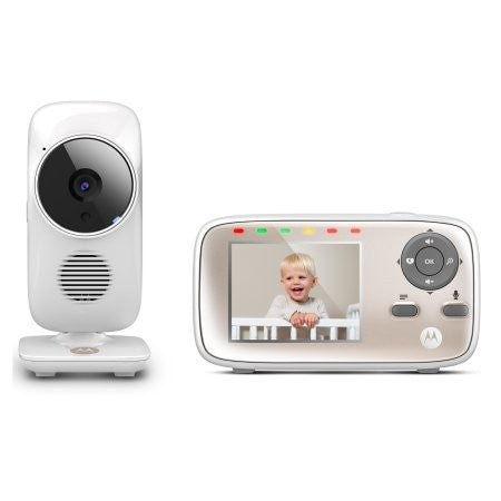 Motorola MBP667 CONNECT Smart Video Babyfone mit Wi-Fi Internet Viewing (weiß)