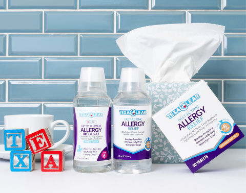 What makes TexaClear Allergy Relief Different