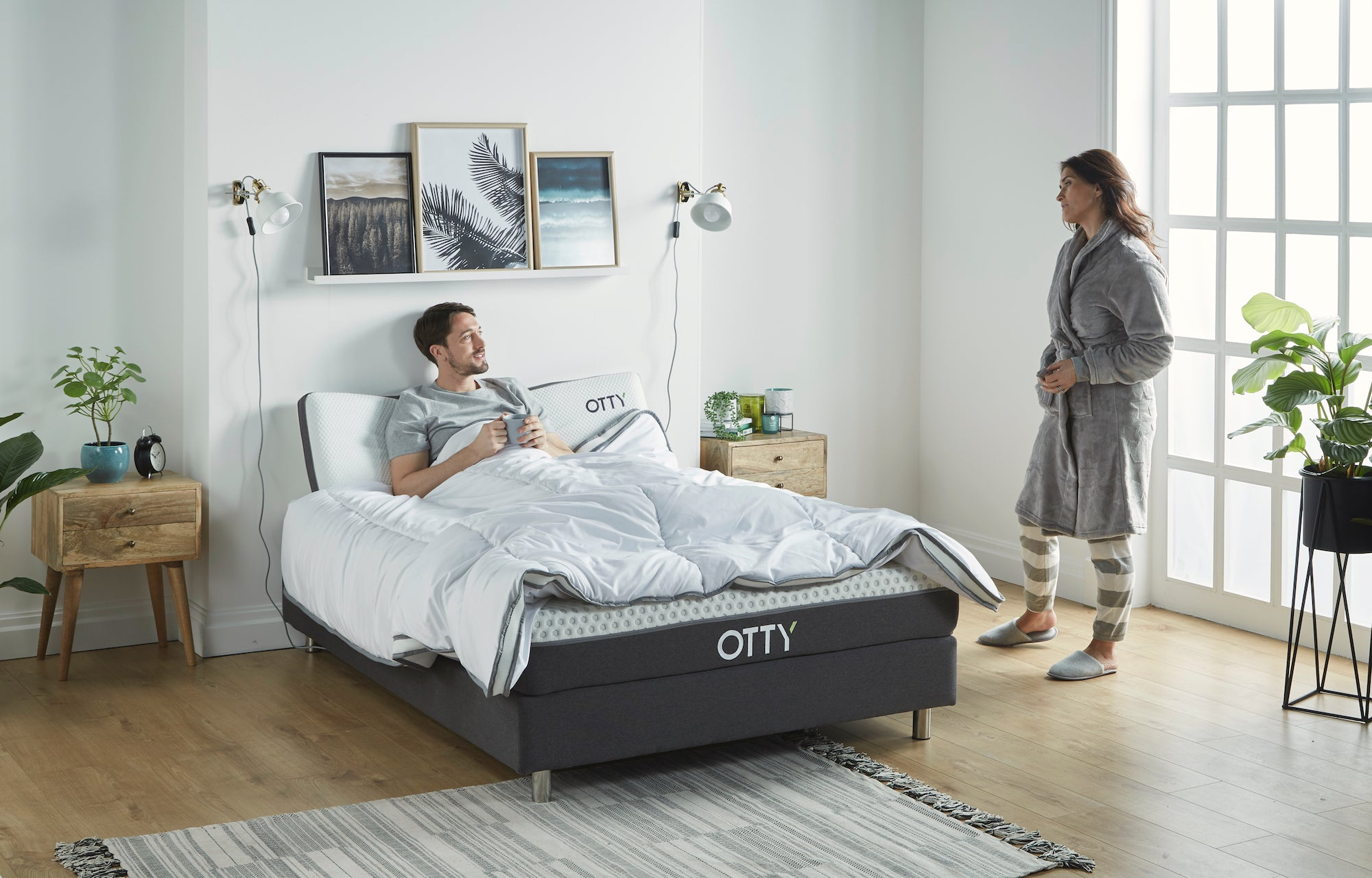 OTTY Essential Mattress Double
