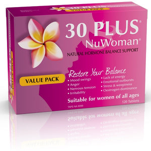 30 PLUS NuWoman Natural Hormone Support
