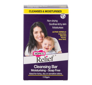 Hopes Relief Soap Free Cleansing bar