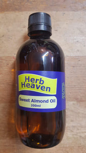 Sweet almond oil 200ml