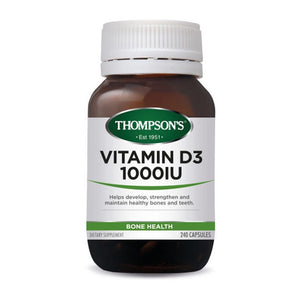 Thompson Vit D3 1000IU