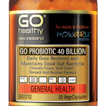 GO PROBIOTIC 40 BILLION - HOWARU Restore (Shelf Stable Probiotics)