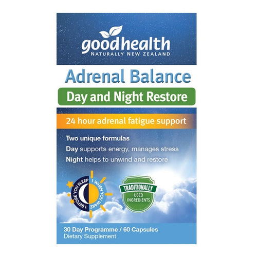 Adrenal balance Day and Night