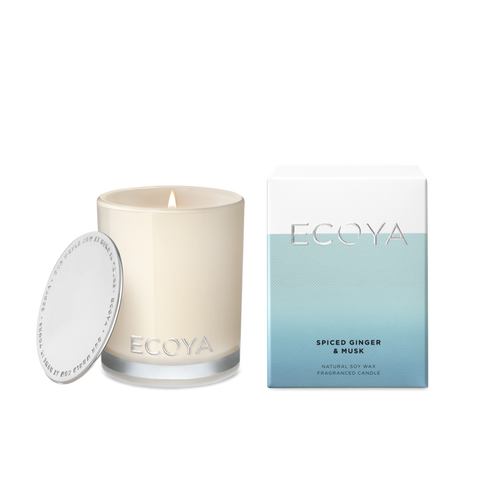 Ecoya Candle- Spiced Ginger and Musk Mini Madison