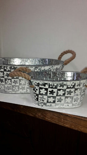 Gift Basket Tin