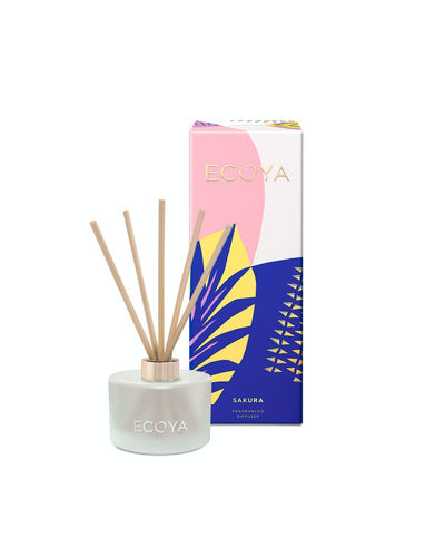 Ecoya Limited Edition Mini Diffuser Fresh Sakura 50m