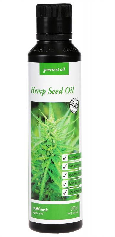 Waihi Bush Hemp Seed Oil 250ml