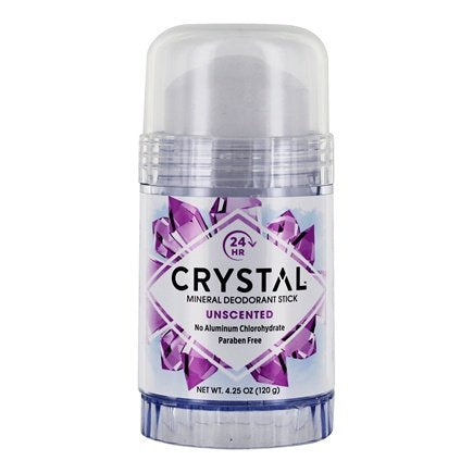 Crystal Mineral Deodorant Stick Unscented-hard Crystal
