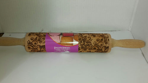 Wooden Decorative Rolling Pin
