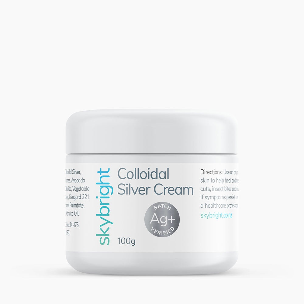 Skybright Colloidal Silver Cream 100g