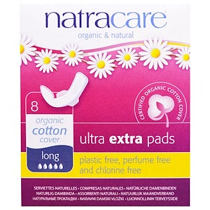 Natracare Ultra Extra Pads with Wings 8