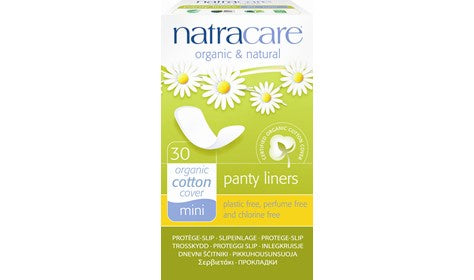 Natracare Mini Panty Liners 30s