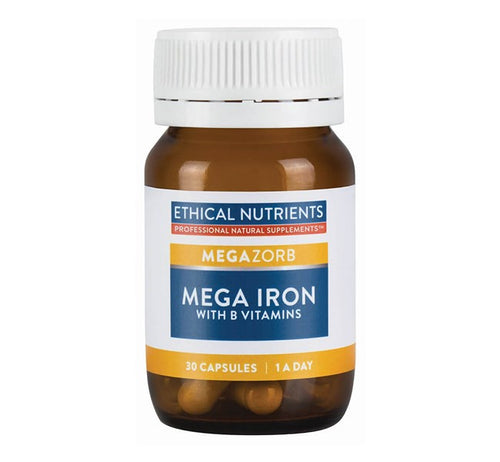 Ethical Nutritents MEGAZORB MEGA IRON WITH B VITAMINS 1-A-DAY