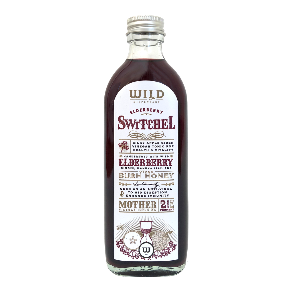 Wild Dispensary Elderberry Switchel 200 ml