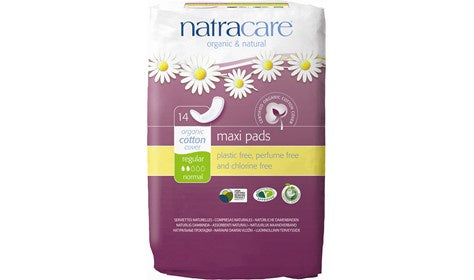 Natracare Maxi Pads Regular 14s