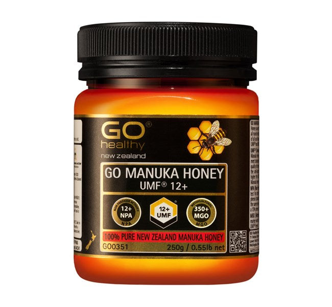 GO MANUKA HONEY UMF 12+ (MGO 356+)