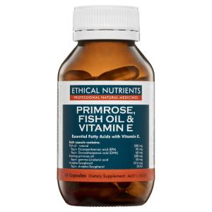 ethical nutrients primrose, fish oil & vit E 60 caps