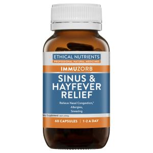 ethical nutrients sinus & hayfever relief 60 caps