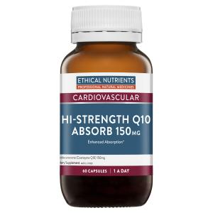 Ethical Nutrients Hi strength Q10 150mg 60 capsules