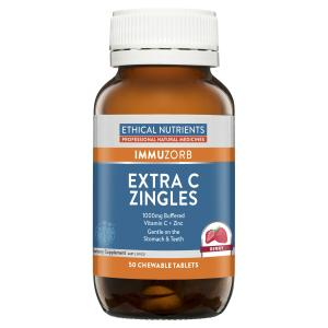 ethical nutrients extra C zingles 50 chewable