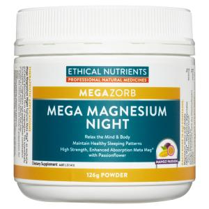 Ethical Nutrients Mega Magnesium Night Powder126g