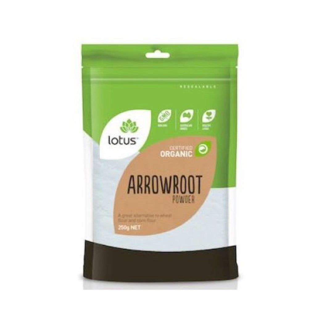LOTUS ARROWROOT ORGANIC POWDER 250GM