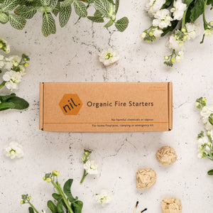 Munch nil fire starters - organic (pack of 24)