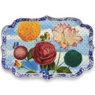 Pip  Studio Porcelain  Royal Tray Flowers 26 CM
