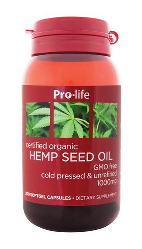Morlife NZ Hemp Seed Oil