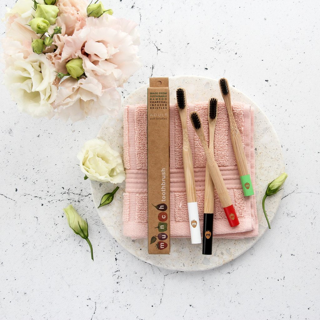 Munch Bamboo Toothbrushes