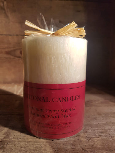 National Candle Wrapped Christmas  Scented Candles
