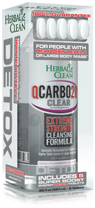 Herbal Clean QCarbo20 Clear Same-Day Detox Drink - 20 oz.