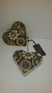 Embroided Hanging Heart