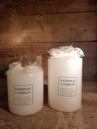 National candles candle-cream wrapped