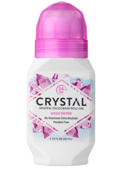 Crystal Body Deodorant, Natural Deodorant, Roll on