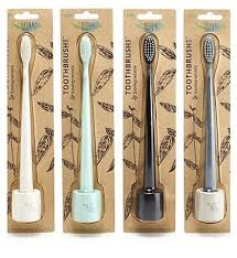 Natural Family Co Toothbrush and Stand