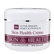 Madeleine Ritchie Active Manuka Honey 18+ & Propolis Skin Health Creme 200ml