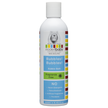 Bubble Bath (Fragrance Free) 250ml