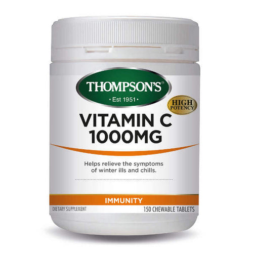 Vit C 1000mg Chewable