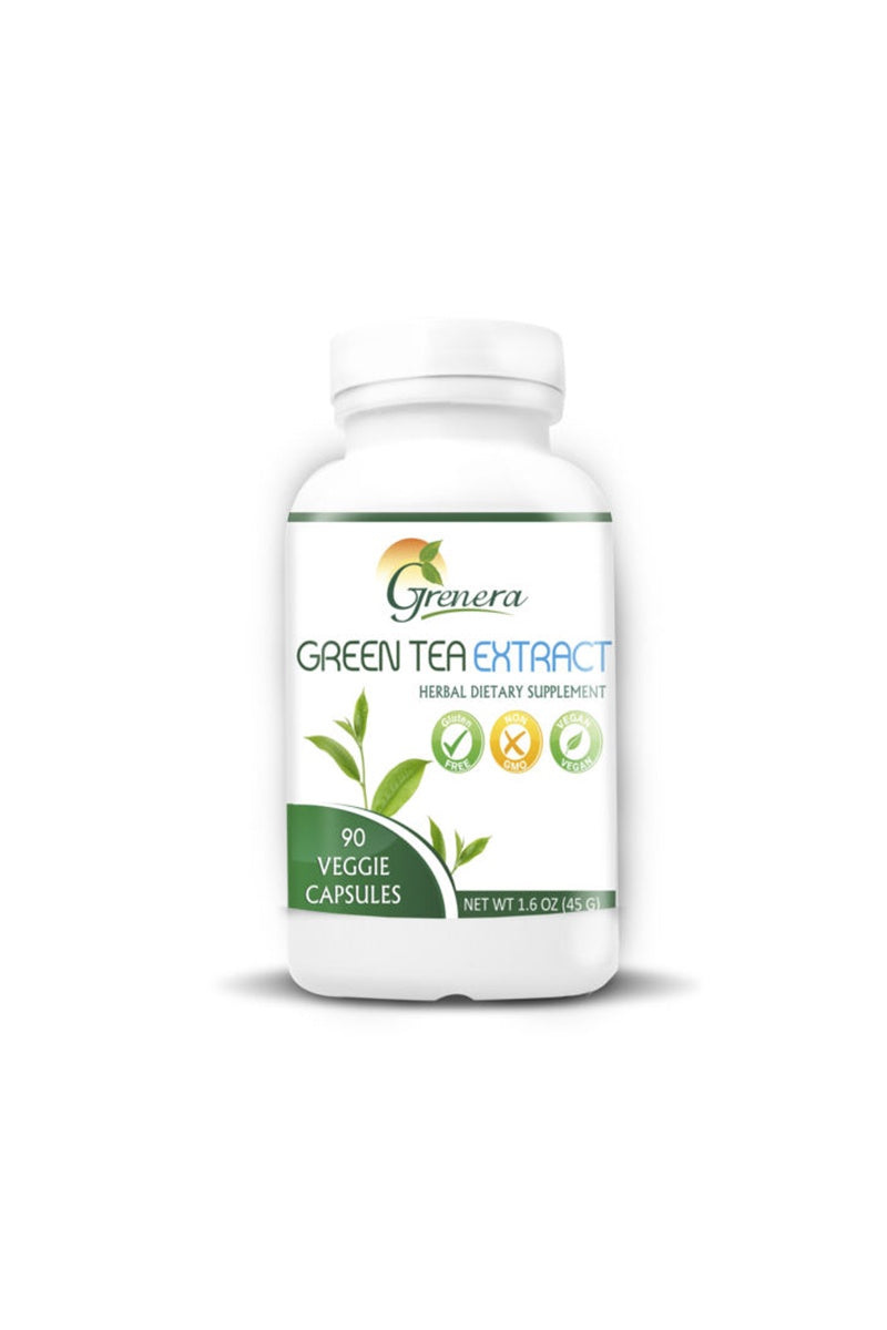 GREEN TEA EXTRACT CAPSULES 90caps