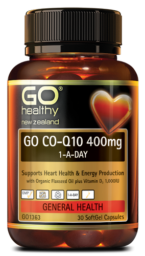 GO CO-Q10 400mg -1-A-DAY