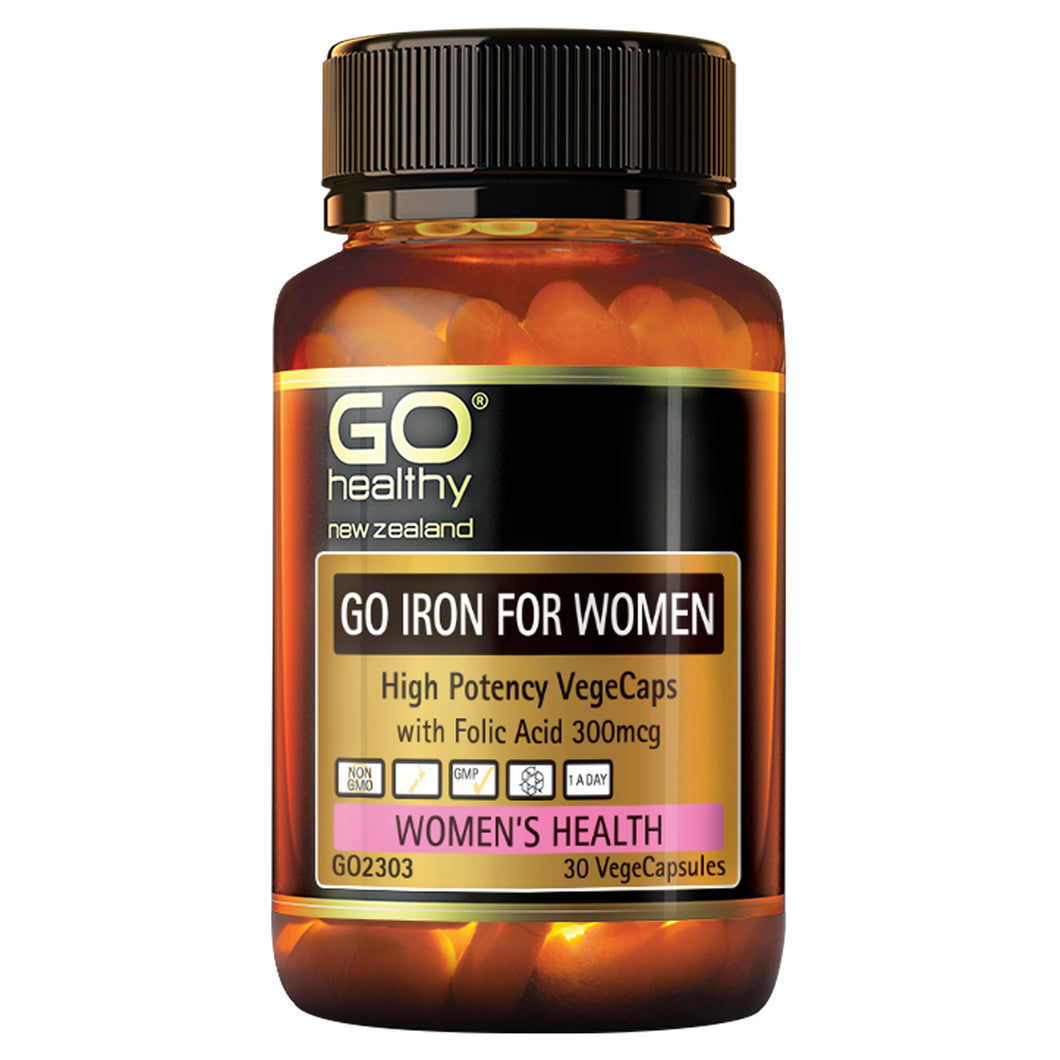 GO IRON FOR WOMEN