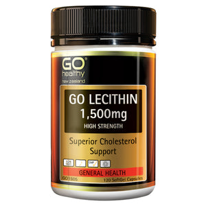 GO LECITHIN 1500mg - High Strength Cholesterol Support