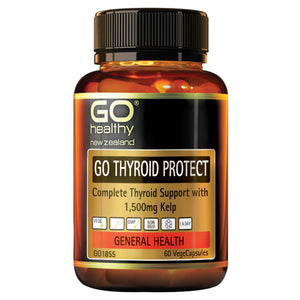 GO THYROID PROTECT - Thyroid Support with Kelp 1500mg