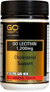 GO LECITHIN 1200mg - Cholesterol Support