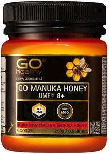 GO MANUKA HONEY UMF 8+ (MGO 180+) 250g