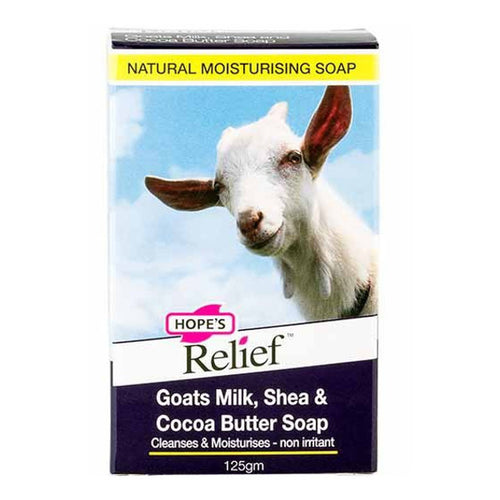 Hopes relief goats milk soap